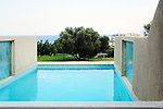 Swimming pool at luxury villa, Crete, Greece <br /> Relaxing Vacation