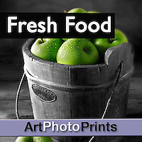 Fine Art Photo Prints Wall Art of Fresh Food