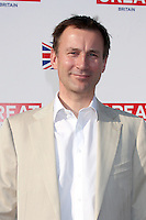 LOS ANGELES - FEB 24:  Rt. Hon. Jeremy Hunt, UK Secretary of State for Culture, Olympics, Media and Sport arrives at the GREAT British Film Reception at the British Consul General's Residence on February 24, 2012 in Los Angeles, CA.