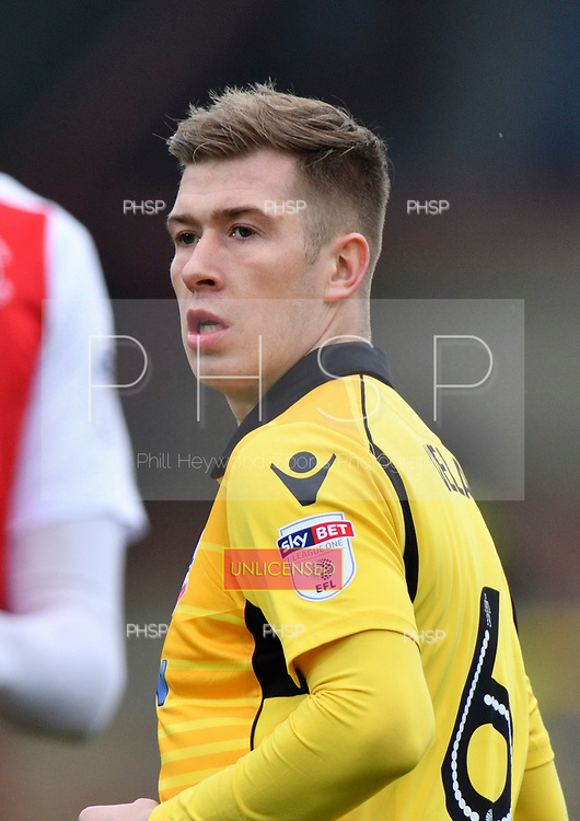 11/03/2017 Sky Bet League 1 Fleetwood Town v Bolton Wanderers<br /> <br /> Josh Vela, Bolton Wanderers FC