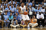 16 November 2014: North Carolina's Kennedy Meeks. The University of North Carolina Tar Heels played the Robert Morris University Colonials in an NCAA Division I Men's basketball game at the Dean E. Smith Center in Chapel Hill, North Carolina. UNC won the game 103-59.