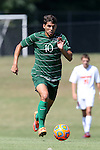 20 September 2015: Stetson's Lucas Diniz (BRA). The Campbell University Camels hosted the Stetson University Hatters at Eakes Athletics Complex in Buies Creek, NC in a 2015 NCAA Division I Men's Soccer game. Campbell won the game 1-0.