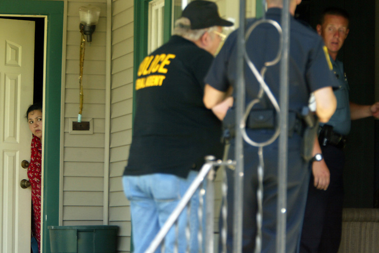 Federal and local law-enforcement agencies arrested eight people for selling identification documents and took in several others for questioning. It is an open secret that most Excel workers, perhaps as many as 80%, purchase illegal papers, such as Social Security cards and birth certificates that belong to U.S. citizens.