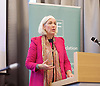 Resolution Foundation meeting - <br /> &quot;A Broken Heart? The living standards challenge facing the West Midlands Metropolitan mayor...<br /> <br /> As the West Midlands Metro area looks forward to its first ever Metro mayoral election next May, the region&rsquo;s economic performance is in the spotlight.<br /> at Birmingham Library, Birmingham, Great Britain <br /> 12th December <br /> <br /> <br /> Beverley Nielsen, former regional CBI director and Liberal Democrat candidate for West Midlands Mayor<br /> <br /> <br /> Photograph by Elliott Franks <br /> Image licensed to Elliott Franks Photography Services
