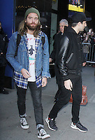 NEW YORK, NY November 23: Jack Lawless  of DNCE  at  Good Morning America in New York City.November 23, 2016. Credit:RW/MediaPunch