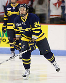 Stephane Da Costa (Merrimack - 24) - The visiting Merrimack College Warriors tied the Boston University Terriers 1-1 on Friday, November 12, 2010, at Agganis Arena in Boston, Massachusetts.