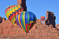 Red Rocks and Hot Air Balloons