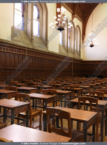 Victorian Foyer University : Large victorian lecture halls stock photo fashion