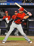 5 March 2012: Washington Nationals outfielder Rick Ankiel in action during a Spring Training game against the New York Mets at Digital Domain Park in Port St. Lucie, Florida. The Nationals defeated the Mets 3-1 in Grapefruit League play. Mandatory Credit: Ed Wolfstein Photo