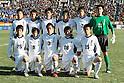 Yokkaichi Chuo Kogyo team group line-up (Yonchuko),.JANUARY 9, 2012 - Football / Soccer :.Yokkaichi Chuo Kogyo team group shot (Top row - L to R) Takuma Asano, Shota Tamura, Kazuki Matsuo, Tomofumi Fujiyama, Keisuke Saka, Kengo Nakamura, (Bottom row - L to R) Yudai Narukawa, Shunsuke Terao, Takashi Nishiwaki, Daiki Tamura and Shotaro Kawamoto before the 90th All Japan High School Soccer Tournament final match between Ichiritsu Funabashi 2-1 Yokkaichi Chuo Kogyo at National Stadium in Tokyo, Japan. (Photo by Hiroyuki Sato/AFLO)