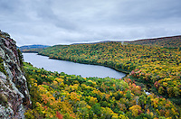 Autumn at Lake of the Clouds - Porcupine Mountains. Western U.P. of Michigan.