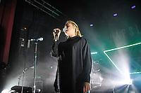 LONDON, ENGLAND - OCTOBER 19: L&aring;psley(Holly Lapsley Fletcher) performing at Shepherd's Bush Empire on October 19, 2016 in London, England.<br /> CAP/MAR<br /> &copy;MAR/Capital Pictures /MediaPunch ***NORTH AND SOUTH AMERICAS ONLY***
