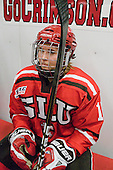 Rylee Smith (St. Lawrence - 15) - The Harvard University Crimson defeated the St. Lawrence University Saints 8-3 (EN) to win their ECAC Quarterfinals on Saturday, February 26, 2011, at Bright Hockey Center in Cambridge, Massachusetts.