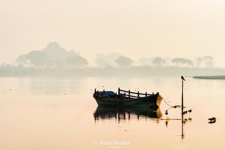 Jamuna in Vrindavan, Rajashan, India.