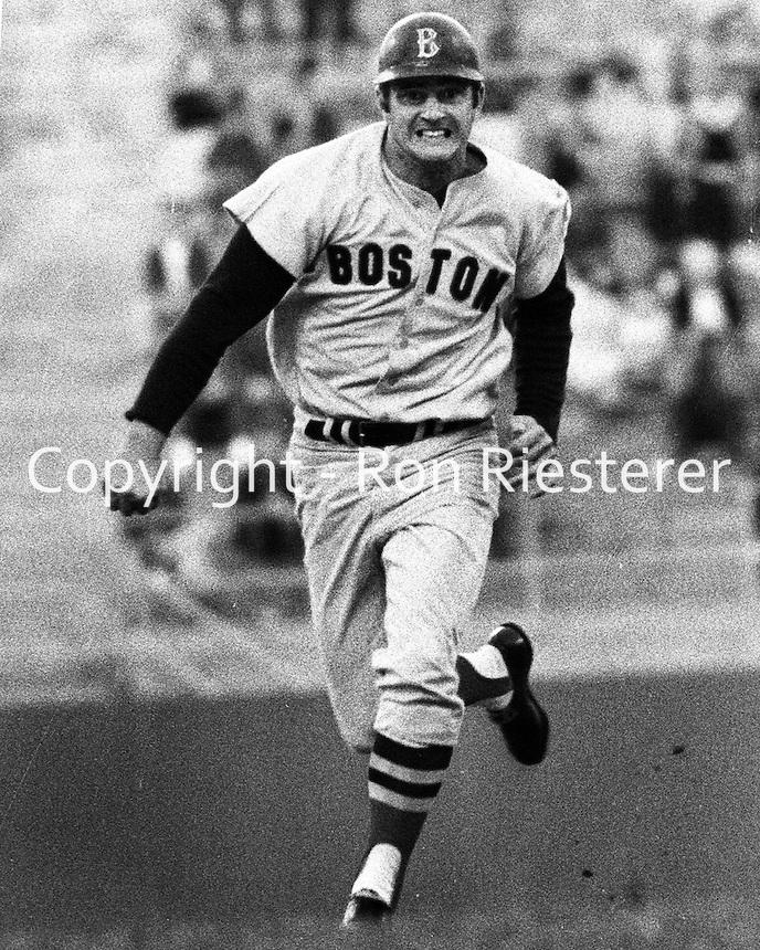 Carl Yastrzemski, Red Sox slugger  (1968).photo/Ron Riesterer