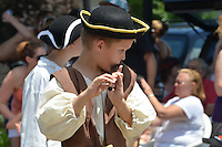 Deep River Ancient Muster 16 July 2011 in Deep River CT. 58th Annual Event, Parade on Main Street & Awards Presentations at Devitt Field.