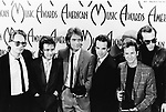 Huey Lewis and The News 1985 American Music Awards.© Chris Walter.