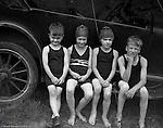 Highland Park PA:  Helen, Brady Jr Stewart and friends having fun at the Highland Park pool - 1924.