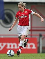 Jayne Ludlow of Arsenal - Arsenal Ladies vs Sparta Prague - UEFA Women's Champions League at Boreham Wood FC - 11/11/09 - MANDATORY CREDIT: Gavin Ellis/TGSPHOTO - Self billing applies where appropriate - Tel: 0845 094 6026