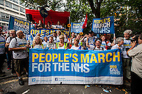 "06.09.2014 - ""People's March For The NHS"" - #March4NHS"