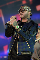 MIAMI, FL - NOVEMBER 5: Farruko at iHeartRadio Fiesta Latina 2016 at The American Airlines Arena on November 5, 2016. Credit: mpi04/MediaPunch