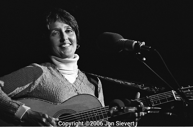Joan Baez, Oct 8, 1977. American folk singer, songwriter and activist. She rose to fame as an unbilled performer at the 1959 Newport Folk Festival. She began her recording career in 1960, and achieved immediate success. Her first three albums, Joan Baez, Joan Baez, Vol. 2, and Joan Baez in Concert all achieved gold record status, and stayed on the charts for two years.Her recordings have included topical songs and material dealing with social issues.