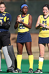 15 November 2015: Michigan's Courtney Enge. The University of North Carolina Tar Heels played the University of Michigan Wolverines at Francis E. Henry Stadium in Chapel Hill, North Carolina in a 2015 NCAA Division I Field Hockey Tournament Quarterfinal match. UNC won the game 1-0.