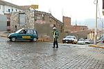 Policeman Directing Traffic