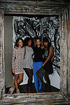 DJ Kitty Cash, Guest Brandee brown and Guest Attend alice+olivia by Stacey Bendet & David Choe Present a Night of Fashion and Art at 450 West 14th Street, NY