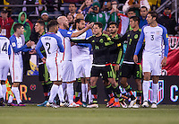 Columbus, OH - November 11, 2016: The Mexico defeated the USMNT 2-1 during the opening match of Final Round Qualifying for the 2018 FIFA World Cup at MAPFRE Stadium.