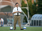 07 September 2007: UNC head coach Anson Dorrance. The University of North Carolina Tar Heels defeated the Texas A&M University Aggies 2-1 at Fetzer Field in Chapel Hill, North Carolina in an NCAA Division I Women's Soccer game, and part of the annual Nike Carolina Classic tournament.