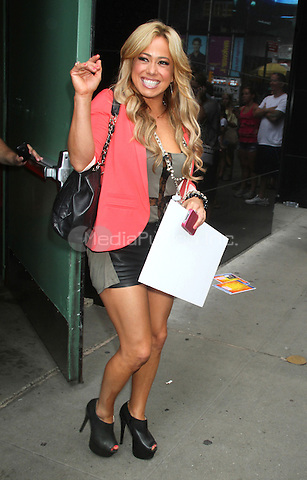 NEW YORK, NY - July 30, 2012: Sabrina Bryan at Good Afternoon America in New York City. © RW/MediaPunch Inc.