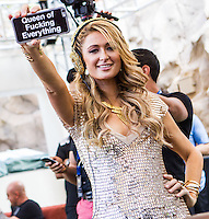 Paris Hilton at REHAB at Hard Rock Hotel in Las Vegas