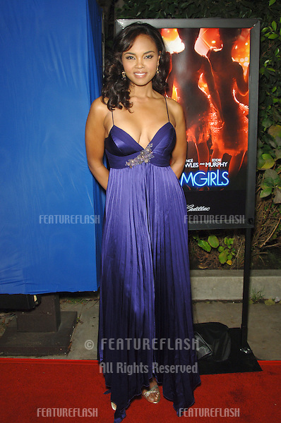 "SHARON LEAL at the Los Angeles premiere of her new movie ""Dreamgirls"" at the Wilshire Theatre..December 11, 2006  Los Angeles, CA.Picture: Paul Smith / Featureflash"