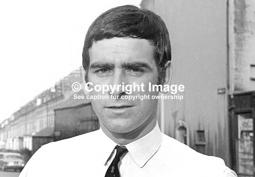Ritchie McGladdery, candidate, independent, North Down, UK General Election, 18th June 1970, 197006000191b<br />