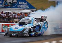 Jun 18, 2016; Bristol, TN, USA; NHRA funny car driver Jeff Diehl during qualifying for the Thunder Valley Nationals at Bristol Dragway. Mandatory Credit: Mark J. Rebilas-USA TODAY Sports