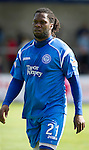 St Johnstone FC.... Season 2010-11.Collin Samuel.Picture by Graeme Hart..Copyright Perthshire Picture Agency.Tel: 01738 623350  Mobile: 07990 594431