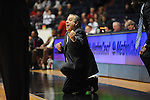 Ole Miss assistant coach Sergio Rouco vs. SMU at the C.M. &quot;Tad&quot; Smith Coliseum in Oxford, Miss. on Tuesday, January 3, 2012. Ole Miss won 50-48.