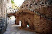Medieval city wall gates of Kotor - Montenegro