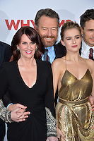 Actors Megan Mullally, Bryan Cranston &amp; Zoey Deutch at the world premiere of &quot;Why Him?&quot; at the Regency Bruin Theatre, Westwood. December 17, 2016<br /> Picture: Paul Smith/Featureflash/SilverHub 0208 004 5359/ 07711 972644 Editors@silverhubmedia.com
