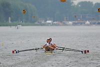 Amsterdam, NETHERLANDS, FRA BM4-,  2011 FISA U23 World Rowing Championships, Wednesday, 20/07/2011 [Mandatory credit:  Intersport Images]