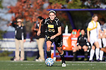 21 October 2012: Iowa's Cloe Lacasse (CAN). The Northwestern University Wildcats played the University of Iowa Hawkeyes at Lakeside Field in Evanston, Illinois in a 2012 NCAA Division I Women's Soccer game. Northwestern won the game 1-0.