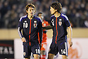L to R Keigo Higashi (JPN), Genki Haraguchi (JPN), March 14, 2012 - Football / Soccer : 2012 London Olympics Asian Qualifiers Final Round, Group C Match between U-23 Japan 2-0 U-23 Bahrain at National Stadium, Tokyo, Japan. (Photo by Daiju Kitamura/AFLO SPORT) [1045]