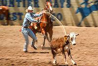 Rodeo event; Steer Wrestling