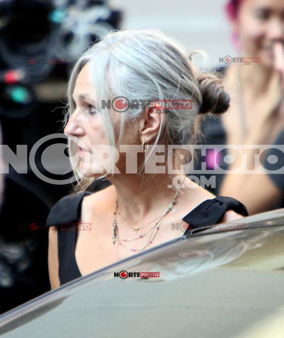 July 12, 2012 Sharman Macdonald, mother of Keira Knightley shooting on location for new VH-1 movie Can a Song Save Your Life? in New York City. &copy; RW/MediaPunch Inc. /*NORTEPHOTO*<br /> **SOLO*VENTA*EN*MEXICO**<br /> **CREDITO*OBLIGATORIO** <br /> **No*Venta*A*Terceros**<br /> **No*Sale*So*third**<br /> *** No*Se*Permite Hacer Archivo**<br /> **No*Sale*So*third**