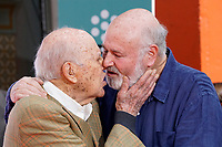 Carl and Rob Reiner Hand and Footprint Ceremony