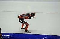 SCHAATSEN: HEERENVEEN: IJsstadion Thialf, 27-12-2015, KPN NK Afstanden, 5000m Heren, Erik Jan Kooiman, ©foto Martin de Jong