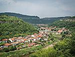 Veliko Tarnovo along the Yantra River, Bulgaria