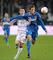 Fussball Bundesliga 2012/13 Relegation: Hoffenheim - Kaiserslautern