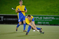 Action from the Wellington Hockey Premier 1 boys final - Wellington College v Wairarapa College at National Hockey Stadium, Wellington, New Zealand on Saturday 19 September 2014.<br /> Photo by Masanori Udagawa.<br /> www.photowellington.photoshelter.com